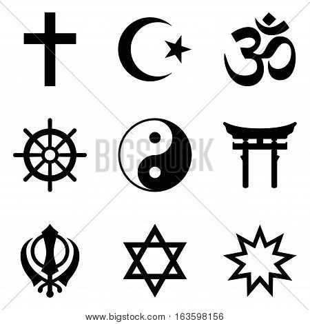 Symbols Of World Religions Nine Signs Of Major Religious Groups And
