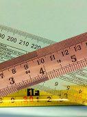 Rulers, #1 (Vertical)