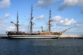 image of yardarm  - sailing ship - JPG