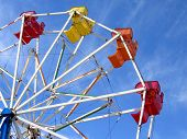 stock photo of ferris-wheel  - ferris wheel  - JPG