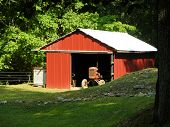 Red Tractor Barn
