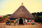 Choza africana