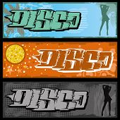 Graffiti Disco Banner