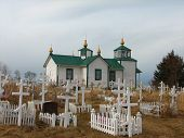 Rural Alaskan Russian Orthodox Church