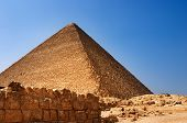 foto of burial-vault  - Egyptian pyramids - JPG