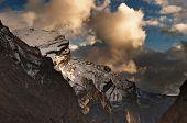 Forbidding rocks, Himalaya, Nepal
