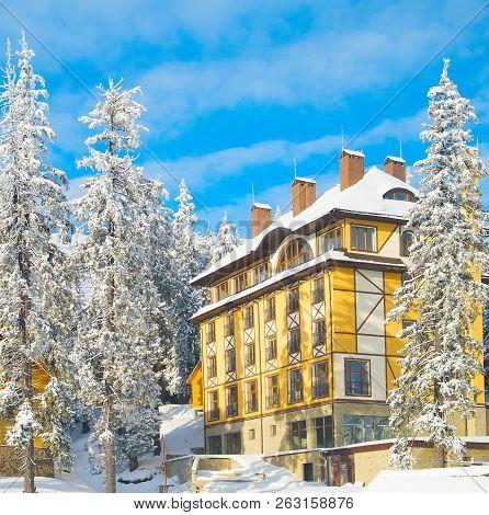 View Of Ski Resort Hotels