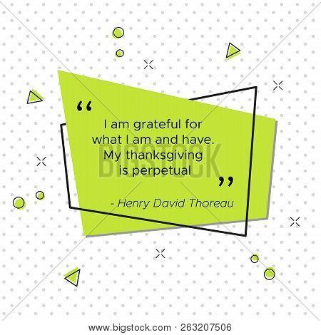 Quote Of Henry David Thoreau