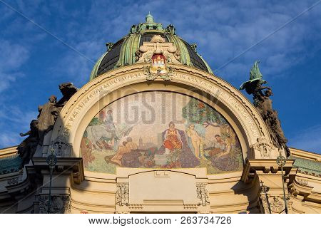 Municipal House Architectonic Detail Art
