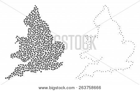 Dot And Contour Map Of
