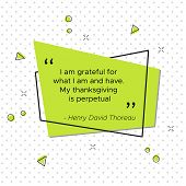 Quote Of Henry David Thoreau, American Poet And Philosopher. I Am Grateful For What I Am And Have. M poster