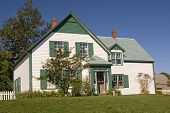 House in the National Park in Cavendish, Prince Edward Island that the author L. M. Montgomery used