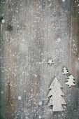 Rustic wood background for Christmas with copy space for all Christmas design. Old wood texture deco poster