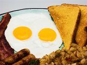 Complete Egg Breakfast