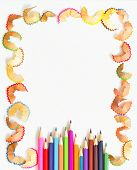 pencil and shaving frame