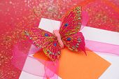 Butterfly Gift Close