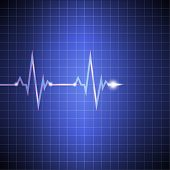 Pulse. Cardiogram On The Monitor In The Cell. Heart Rate Data. Vector Illustrations. Eps. poster