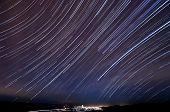 Morgan Hill Star Trails