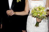 Hände trat in der Ehe