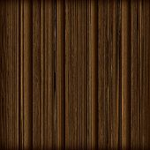 Aged Brown Wooden Panels With Distressed Grain.