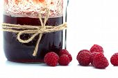 Dessert With Fresh Strawberries