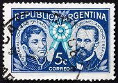 Postage stamp Argentina 1941 General Domingo French