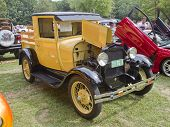 1929 Yellow Ford Model A