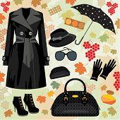 Jogo de moda de outono