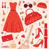 Jogo de moda de Paris