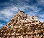 Famoso templo erótico em Khajuraho, na Índia
