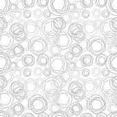 Seamless Vector Texture - Gray Rings