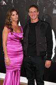 Los Angeles - AUG 15:  Charisma Carpenter, Ryan Lochte arrives at the