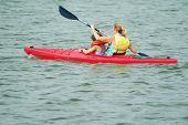 Kayaking On The Bay
