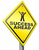 pic of glorious  - success ahead road to victory and glory be a winner and successful take this opportunity and succeed - JPG