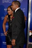 Los Angeles - AUG 16:  Bobbi Kristina Brown, Nick Gordon arrive at the