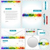 Business templates. Corporate style