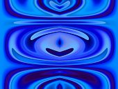 Blue Monochorme Abstract