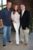 LOS ANGELES - AUG 18:  Doug Davidson, Tracey Bregman, Michael Maloney at the book signing for Willia