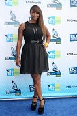 LOS ANGELES - AUG 19:  Jackie Christie arrives at the 2012 Do Something Awards at Barker Hanger on A