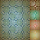 Seamless geometric background wall paper