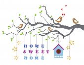 stock photo of congrats  - Home sweet home moving - JPG