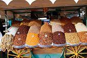 Dried Fruit Market In Marrakesh