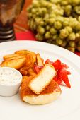 pic of ermine  - Fried cheese - JPG