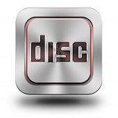 Aluminum Glossy Icon, Button, Sign