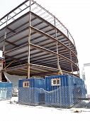 Construction In Progress Steel Structure