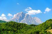Corno Grande, Gran Sasso Panoramic View L'aquila, Italy