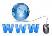 concepto de mundo de www
