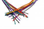 color wire cable technology equipment plastic network electric p