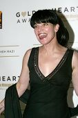 BEVERLY HILLS - MAY 7: Pauley Perrette arrives at The 12th Annual Golden Hearts Awards presented by