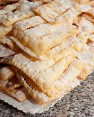 Chiacchiere Or Frappe Italian Cake